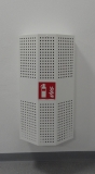 Schutzkasten für Feuerlöscher in RAL-Wunsch-Farbe
