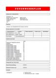 Erstellung Feuerwehrplan nach DIN 14095
