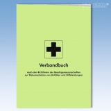 Verbandbuch Unfall-Dokumentation groß DIN A4
